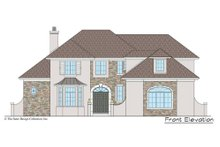 Architectural House Design - European Exterior - Other Elevation Plan #930-517