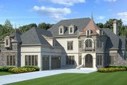 European Style House Plan - 4 Beds 4 Baths 3376 Sq/Ft Plan #119-358 Exterior - Other Elevation
