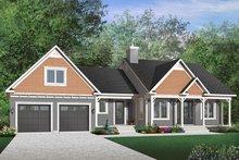 Farmhouse Exterior - Front Elevation Plan #23-642