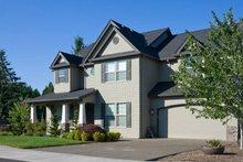 Craftsman Exterior - Front Elevation Plan #48-262