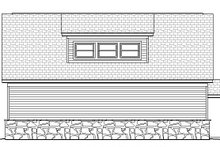 Country Exterior - Rear Elevation Plan #932-152