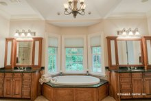 European Interior - Master Bathroom Plan #929-479