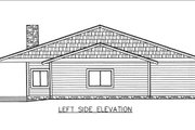 Ranch Style House Plan - 3 Beds 2 Baths 2568 Sq/Ft Plan #117-882 Exterior - Other Elevation