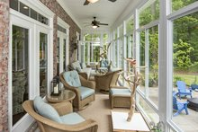 Dream House Plan - Enclosed Rear Porch