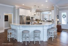 Dream House Plan - European Interior - Kitchen Plan #929-25