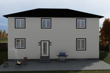 Dream House Plan - Traditional Exterior - Rear Elevation Plan #1060-7