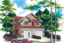 Traditional Exterior - Front Elevation Plan #48-366
