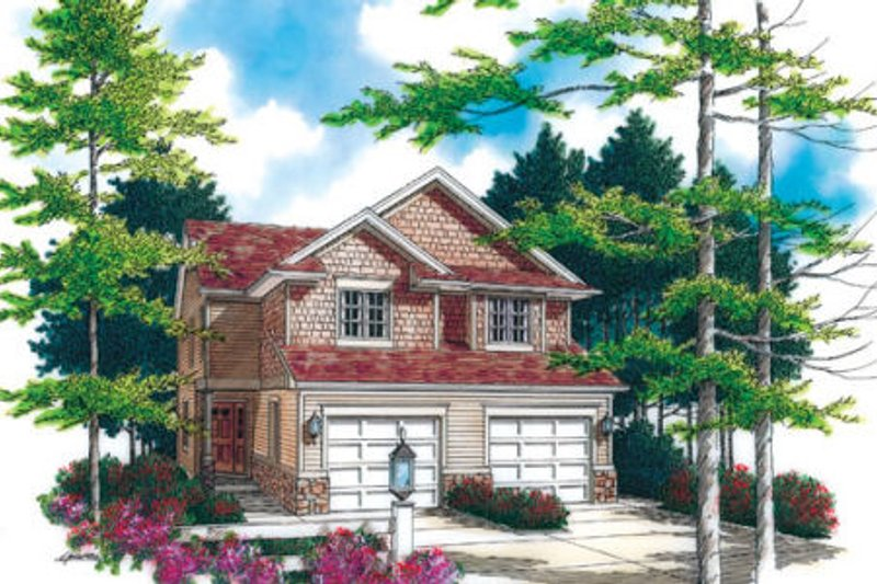 Dream House Plan - Traditional Exterior - Front Elevation Plan #48-366