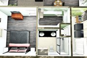 Farmhouse Style House Plan - 2 Beds 2 Baths 1311 Sq/Ft Plan #44-227 Interior - Other