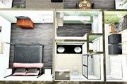 Farmhouse Style House Plan - 2 Beds 2 Baths 1311 Sq/Ft Plan #44-227