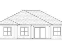 House Plan Design - Craftsman Exterior - Rear Elevation Plan #938-96