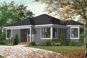 Cottage Style House Plan - 2 Beds 1 Baths 994 Sq/Ft Plan #23-166 Exterior - Front Elevation