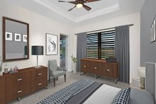House Plan Design - Mediterranean Interior - Bedroom Plan #938-90