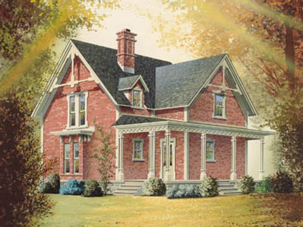 Victorian Style House Plan 3 Beds 2 Baths 1663 Sq Ft