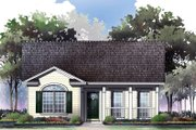 Cottage Style House Plan - 2 Beds 2 Baths 1000 Sq/Ft Plan #21-168