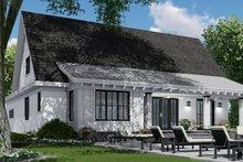 Dream House Plan - Farmhouse Exterior - Rear Elevation Plan #51-1146