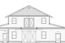 Home Plan - Farmhouse Exterior - Other Elevation Plan #895-116