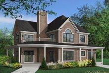 Farmhouse Exterior - Front Elevation Plan #23-383