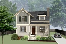 Craftsman Exterior - Front Elevation Plan #79-299