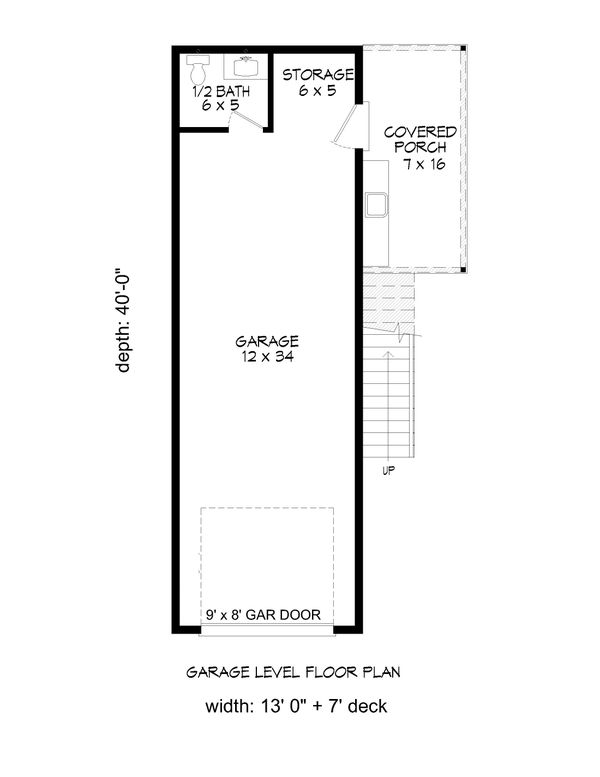 Country Floor Plan - Main Floor Plan Plan #932-291