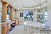 European Style House Plan - 4 Beds 4.5 Baths 5045 Sq/Ft Plan #930-505 Interior - Master Bathroom