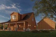 House Plan Design - Craftsman Exterior - Rear Elevation Plan #923-178