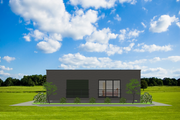 Modern Style House Plan - 4 Beds 2 Baths 1480 Sq/Ft Plan #549-12 Photo