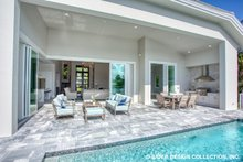Dream House Plan - Contemporary Exterior - Outdoor Living Plan #930-504