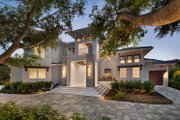 Contemporary Style House Plan - 5 Beds 8 Baths 6001 Sq/Ft Plan #548-25 Exterior - Front Elevation