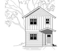 Craftsman Exterior - Front Elevation Plan #423-22