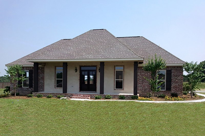 Country Exterior - Front Elevation Plan #21-394 - Houseplans.com
