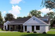 Farmhouse Style House Plan - 3 Beds 2.5 Baths 2112 Sq/Ft Plan #923-151 Exterior - Rear Elevation