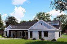 Farmhouse Exterior - Rear Elevation Plan #923-151
