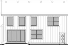 Craftsman Exterior - Rear Elevation Plan #1073-16