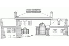 Southern Exterior - Front Elevation Plan #137-120