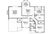 Craftsman Style House Plan - 4 Beds 3.5 Baths 2763 Sq/Ft Plan #419-165 Floor Plan - Upper Floor