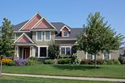 Craftsman Style House Plan - 4 Beds 3.5 Baths 3162 Sq/Ft Plan #51-449 Exterior - Other Elevation
