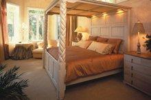 House Plan Design - Mediterranean Interior - Master Bedroom Plan #930-106