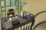 Country Style House Plan - 4 Beds 3.5 Baths 3782 Sq/Ft Plan #57-606 Exterior - Other Elevation