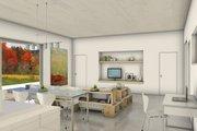 Modern Style House Plan - 2 Beds 2 Baths 1974 Sq/Ft Plan #497-34