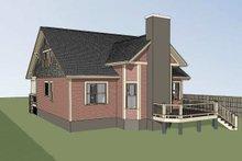 Craftsman Exterior - Rear Elevation Plan #79-264