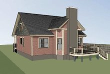 Dream House Plan - Craftsman Exterior - Rear Elevation Plan #79-264