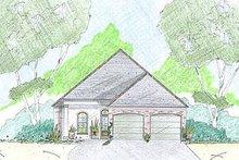 Home Plan - European Exterior - Front Elevation Plan #36-456