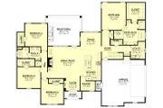 Ranch Style House Plan - 4 Beds 2.5 Baths 2404 Sq/Ft Plan #430-169 Floor Plan - Main Floor