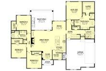 Ranch Floor Plan - Main Floor Plan Plan #430-169