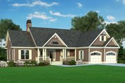 Country Style House Plan - 3 Beds 2 Baths 1517 Sq/Ft Plan #929-314 Exterior - Front Elevation