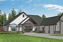 Architectural House Design - Craftsman Exterior - Front Elevation Plan #124-1182