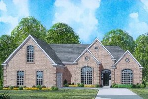 Traditional Exterior - Front Elevation Plan #424-10