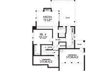 Contemporary Floor Plan - Lower Floor Plan Plan #48-656