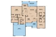 Ranch Style House Plan - 3 Beds 2.5 Baths 2495 Sq/Ft Plan #923-89 Floor Plan - Main Floor
